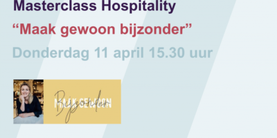 Uitnodiging Masterclass Hospitality